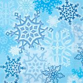 Snowflake Lunch Napkins - 16 Per Unit