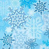 Snowflake Lunch Napkins - 16 Per Unit