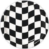 """Checkered Plates 8 3/4"""" - 8 Per Unit"""
