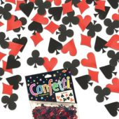 Casino Card Suit Confetti