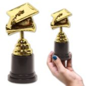 Graduation Cap Trophy - 5 Inch