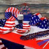 Patriotic Party Kit - 8 Guests