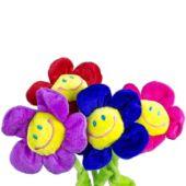 "Plush Daisy Flowers-13""-12 pack"