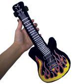 "Flame Plush Guitars-15"""