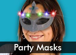 Masquerade Masks for Mardi Gras & More