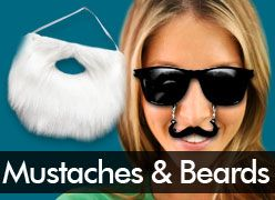Costume Beards & Party Mustaches
