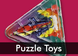 Pinball & Puzzle Toys