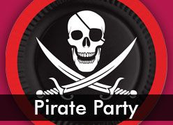 Pirate Theme Party Supplies & Decorations