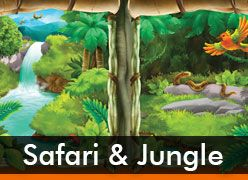 Safari & Jungle Theme Party Supplies