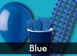 Blue Party Supplies & Decorations