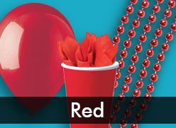Red Party Supplies & Decorations
