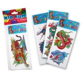 Jumbo Tattoos - 12 Pack