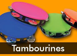 Tambourine Party Favors