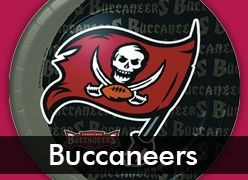 Tampa Bay Buccaneers Party Supplies