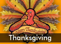 Thanksgiving Party Decorations & Supplies