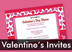 Personalized Valentine's Day Invitations