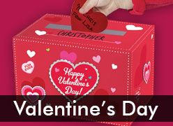 Valentine's Day Party Supplies & Decorations