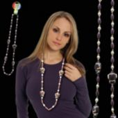"""Football Player Bead Necklace-42"""""""