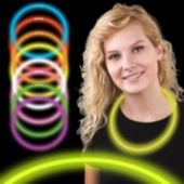 "Yellow Glow Necklaces-22""-50 Per Tube"