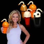 """7"""" Sports Cups (Assorted Colors And Styles)"""