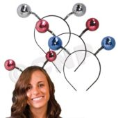 Disco Ball Head Boppers - 12 Pack
