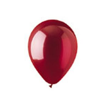 Red Crystal Latex Balloons - 12 Inch, 100 Pack