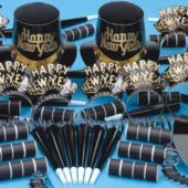 Happy New Year Tiffany Party Kit For 10