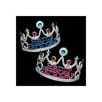 Happy Birthday Jeweled Tiaras