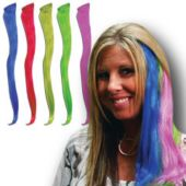 Neon Hair Extensions - 12 Pack