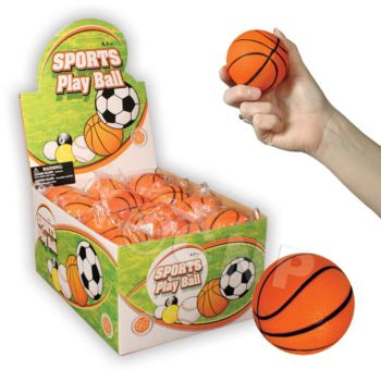 "BASKETBALL   2 12"" STRESS BALLS"