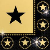 Star Attraction Luncheon Napkins - 16 Pack
