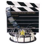 Hollywood Clapboard Centerpiece-13""
