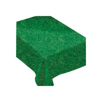 Vinyl Grass   Table Cover