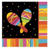 Fiesta Party Luncheon Napkins - 16 Pack