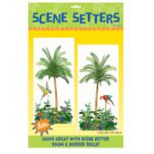 Tropical Palm Trees Scene Setter Add Ons