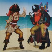 Dueling Pirates Props