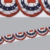 Patriotic Bunting Border Decoration