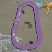 Purple Plastic Leis-12 Pack