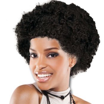 Black Team Spirit Wig