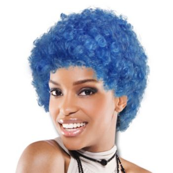 Blue Team Spirit Wig