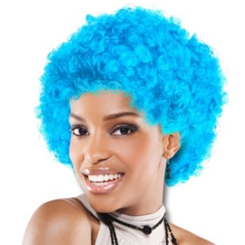 Light Blue Team Spirit Wig