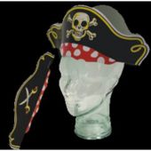 Pirate Party Hats-12 Pack