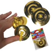 Finger Cymbals-12 Pairs Per Pack