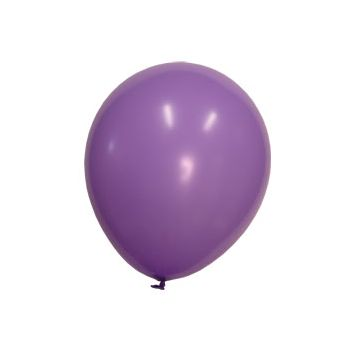 Lavender Crystal Latex Balloons - 12 Inch, 100 Pack