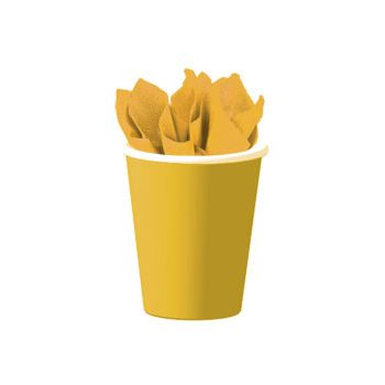 SUNFLOWER YELLOW   9 oz. CUPS