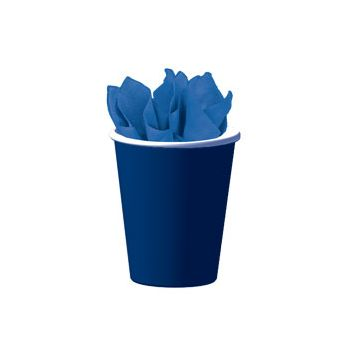 ROYAL BLUE SOLID  9 oz. CUPS