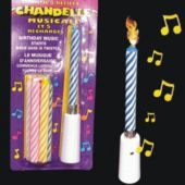 Musical Birthday Candles Party Favors