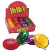 "Plastic Yoyos-2""- 24 Pack"