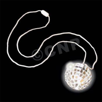 Mirror Ball Disco Necklaces