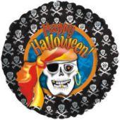 """Pirate Skeleton Metallic 18"""" Balloon"""